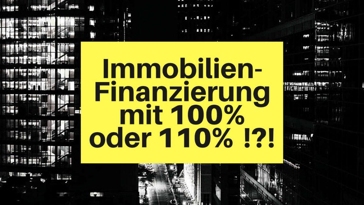 016 Immobilienfinanzierung ohne Eigenkapital